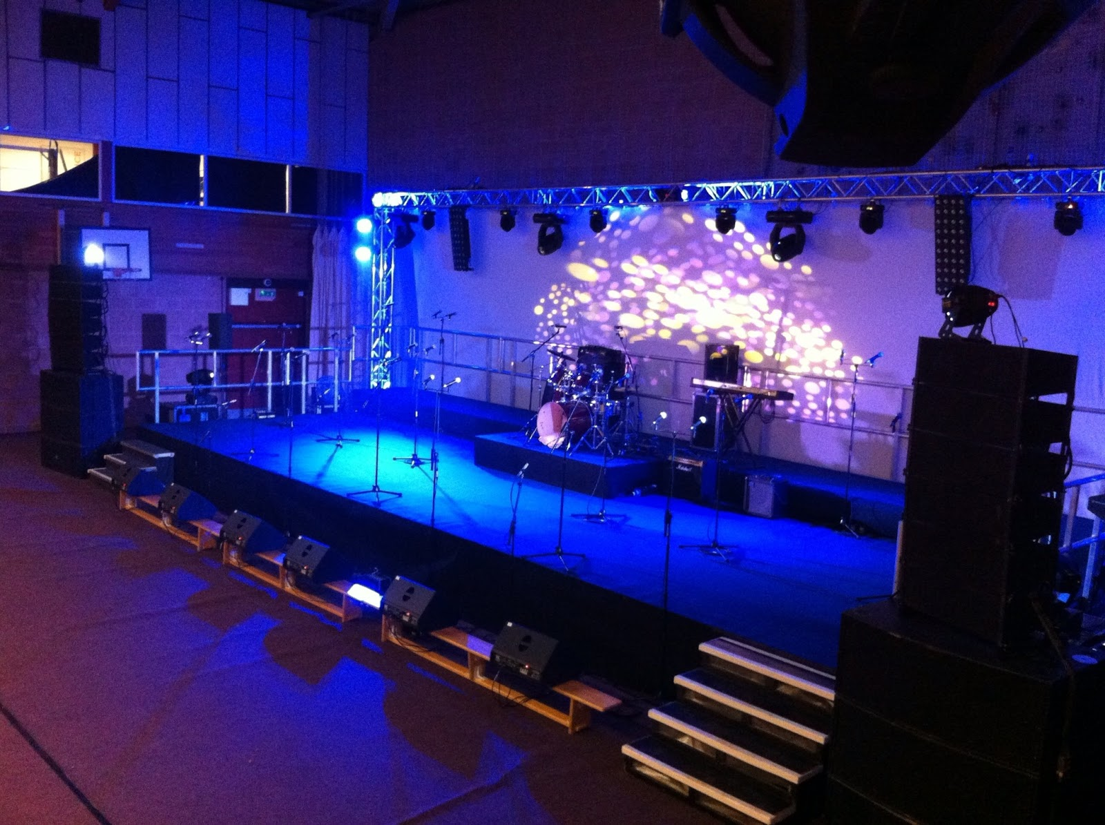 Stage And Lighting Chiola Events
